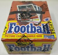 1988 TOPPS NFL Football Card BOX 36 Unopened Wax PACKS Sealed BBCE Wrapped