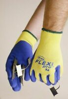 NEW BOSS Flexi Pro Glove with Kevlar Latex Coated Palm & Fingers, UNISEX, X-LRG