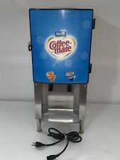 """SILVER KING"" H.D. COMMERCIAL REFRIGERATED 2 FLAVORS COFFEE CREAMER DISPENSER"