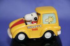 Peanuts Snoopy Aviva Die Cast Toy Car Snoopy's Taxi