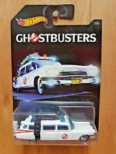 HOT WHEELS 2016 GHOSTBUSTERS SERIES EXCLUSIVE 7/8 ECTO-1 (A+/A)