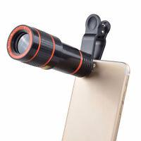 Zoom ottico HD 12x Obiettivo della fotocamera per telescopio universale iPhone B