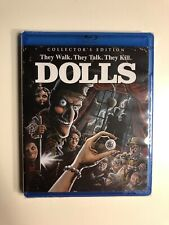 Dolls Scream Factory Collector's Edition Blu-Ray (Brand New) OOP