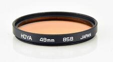 HOYA 49mm 85B WARM FILTER