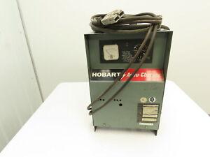 Hobart Accu-Charger Forklift Battery Charger 12V, 381-450Ah  120/208/240v 1ph