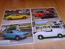 Car brochures 1979 6 Datsun brochures from 1979 Cherry Sunny 120Y Laurel