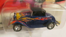 2000 Johnny Lightning Hot Rods R1 1932 FORD HIGHBOY blue with flames