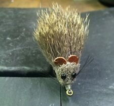 LIGAS MOUSE RAT DEER HAIR WEEDLESS WEED GUARD QUALITY FLY FISHING FLIES LURE # 2