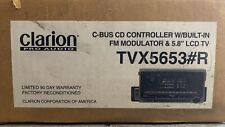 """Reman OLD SCHOOL Clarion TVX5653#R Motorized 5.8"""" TC/CD Changer controller"""