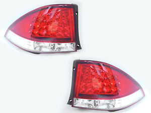 LED RED CLEAR Tail Lights Rear Light For LEXUS IS200 IS300 1998-2005