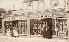 Newbury posted E.H.Wild, Hosier, Outfitter, Draper & Milliner. Shop & Staff.