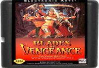 Blades Of Vengeance (1993) 16 Bit Game Card For Sega Genesis / Mega Drive System