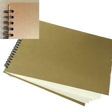 Hard Back Spiral SketchBook A3 Landsacpe 100% recycled cartridge paper pad uks