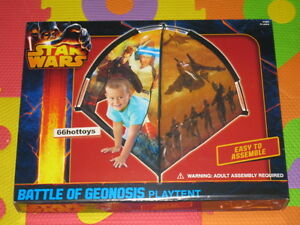 Star Wars Battle OF Geonosis Playtent Easy To Assemble New
