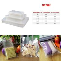 100Pcs Vacuum Food Storage Sealer Bag Space Packing Commercial Food Saver 5Sizes