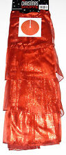 Christmas Tree Skirt 50 inches, Shimmering Red, New w/Tag