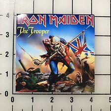 """Iron Maiden The Trooper 4"""" Wide Vinyl Decal Sticker BOGO"""