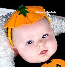 Halloween Wild Orange Pumpkin Headband Decor Kids Unisex Girls Party Costumes