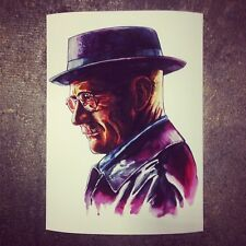 Breaking Bad Poster 12 x 16 Giclee Signed & Numbered #/495 Rare! Tim Doyle
