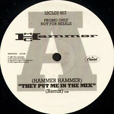"""MC HAMMER they put me in the mix 12 CLDJ 607 promo uk capitol 1991 12"""" WS EX/"""
