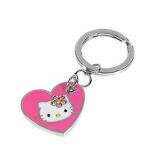 HELLO KITTY Exquisite Key Ring With Genuine Crystals