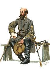 Mark Maritato Civil War General Richard S. Ewell 1863 Signed Giclée Art Print