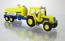"""Busch 50410 IFA Fortschritt Traktor ZT 323 & Tankanhänger """" Baustellenfahrzeug """""""