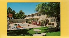 Hollywood Beach,FL Florida Normandie Motel Apartments,TV fresh water Pool