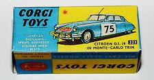 Reprobox Corgi Toys Nr. 323 - Citroen D.S.19 in Monte-Carlo Trim