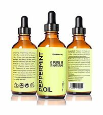 Top Rated Peppermint Oil by Eve Hansen - 4 fl.oz - Safe For Ing... Free Shipping