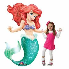 134cm Giant Ariel The Little Mermaid Disney Princess Balloon AirWalker Party Sea