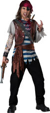 Mens Dead Man Pirate Costume Size Large