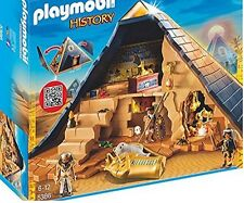 Egyptian Pyramid Playset Kids 6+ Ages Kids Deluxe Pretend Play Creative Toy Set
