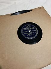 Blue Bird Records glenn miller moonlight serenade Fox Trot 78 Record