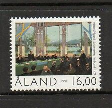 Aland 1991 70th Anniv of Aland Autonomy SG52 unmounted mint stamp