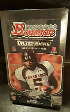2009 Bowman Football Draft Picks Hobby Box Factory Sealed