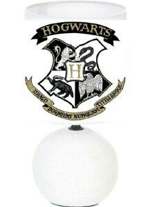 lampe de chevet Harry Potter Hogwarts création artisanale