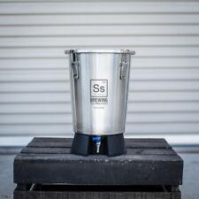 Ss Brewing Technologies Brew Bucket Mini 3.5 Gallon Stainless Steel Fermenter