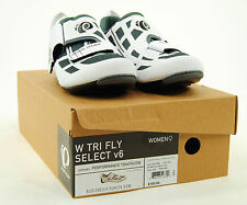 Pearl Izumi Tri Fly Select v6 Women's Triathlon Cycling Shoes White/Gray 39 / 8