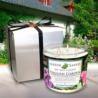 1 Scentsational WILDBERRY JASMINE Natural Soy Large Candle Glass 26 oz