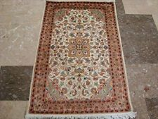 New Exclusive Medallion Flowers Area Rugs Wool Silk Hand Knotted Carpet (5 x 3)'