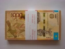Kazakhstan 1000 tenge 2014 UNC sign Kelimbetov P-NEW   5 pcs