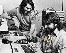 Steve Jobs & Steve Wozniak signed apple 8X10 photo picture poster autograph RP 3