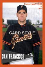 Ramon Martinez - 2002 San Francisco Giants - choose a size - full color print B