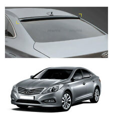 Smoke Roof Rear Visor Wing Spoiler Molding for Hyundai Azera / Grandeur HG 2012+
