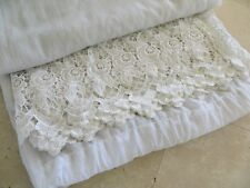 Extra Wide Vintage Drapery Curtain (TWO 2 Panels - different sizes)  RARE!!