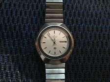Vintage SEIKO 7546-8279 UFO Style Mens Steel Quartz Watch