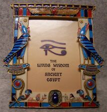 "Picture Frame Egyptian Horus 8"" x 8 3/4"" for 4 ¼"" x 6 ¼"" picture or mirror NEW"