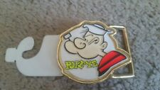 VINTAGE 1973  POPEYE  BELT BUCKLE NEW AND UNUSED
