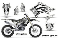 KAWASAKI KXF450 KX450F 12-15 CREATORX GRAPHICS KIT DECALS TRIBAL BOLTS W